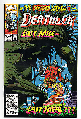 Deathlok Vol 1 No 15 Sep 1992 (NM-) Marvel Comics, Modern Age (1980 - Now)