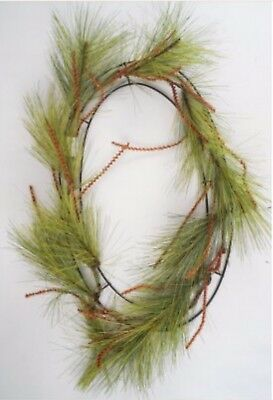 "Long Needle Pine Wreath (Work Wreath Oval Long Needle Pine 24"" X 20"" Christmas 30)"