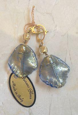 Gold Brushed Leaf Earrings (Brushed Gold Leaf Earring)