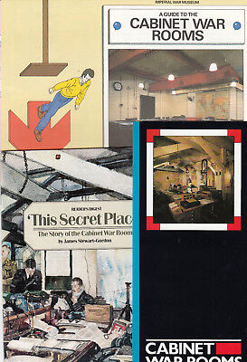 (74303) Cabinet (Churchill) War Rooms London Brochures and Map c1980s on Lookza