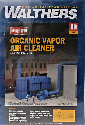 Walthers Cornerstone 933-4086 Organic Vapor Air Cleaner Kit HO Scale