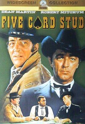 Henry Hathaway's FIVE CARD STUD (1968) Dean Martin Robert Mitchum Inger Stevens