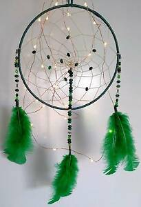 Greens & Blacks *Handmade* Chrysocolla Dreamcatcher North Lakes Pine Rivers Area Preview