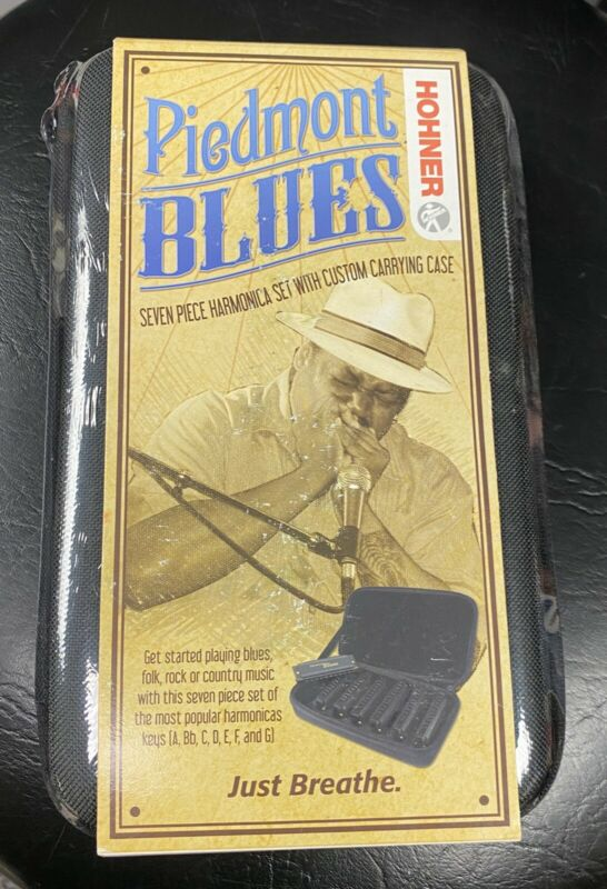 HOHNER PBH7 Piedmont Blues Harp Set - 7 Piece