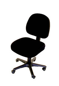 Black-seat-cover-office-computer-chair-slipcover