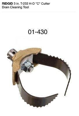 Ridgid 3 In. T-232 H-d C Cutter Drain Cleaning Tool