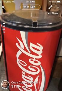 Coca Cola retail cooler