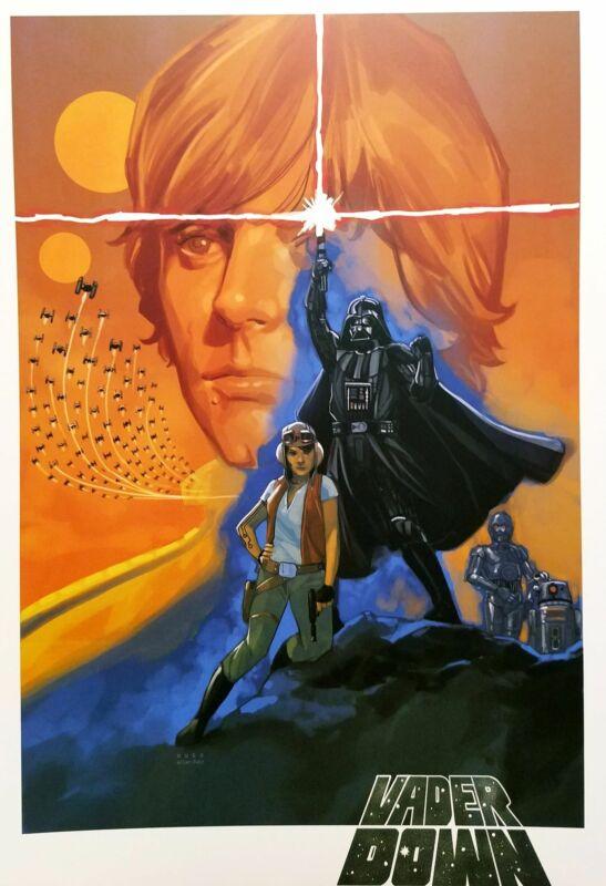 Star Wars Darth Vader by Phil Noto 11x16 Art Poster Print Movie Homage Marvel Co