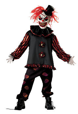 The Vision Halloween Costume (Carver The Clown Child Costume Red & Black Shirt Halloween Seasonal)