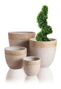 Unique Large Ceramic Planters for Outside