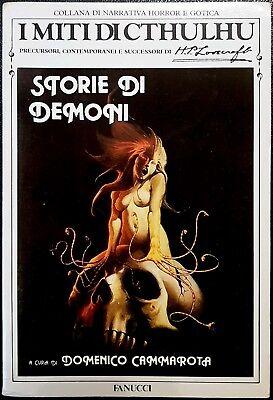 Domenico Cammarota, Storie di Demoni, Ed. Fanucci, 1988