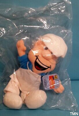 General Mills Breakfast Babies Pals Plush Beanie Wendell the Baker 1998