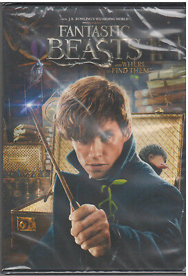 FANTASTIC BEASTS AND WHERE TO FIND THEM (DVD, 2017) NEW