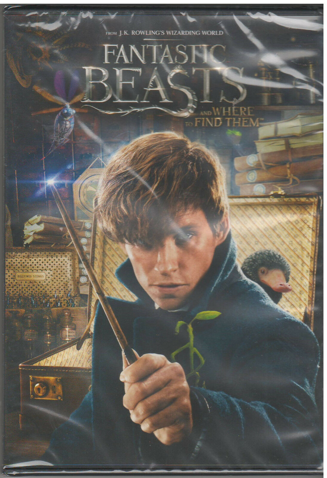 Купить FANTASTIC BEASTS AND WHERE TO FIND THEM (DVD, 2017) NEW