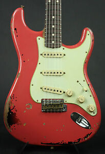 Fender Custom Shop Michael Landau '63 Stratocaster Fiesta Red over 3TSB New!