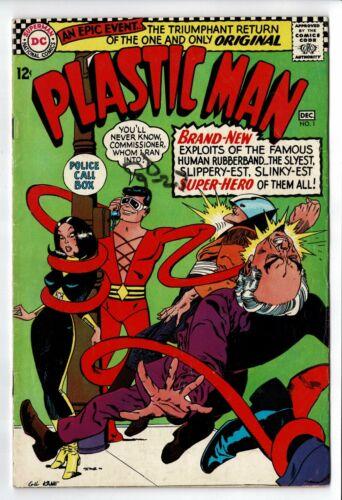 Plastic Man 1  FN