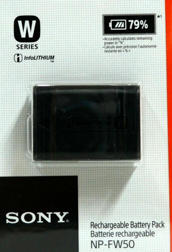 Sony NP-FW50 Lithium-Ion 1020 mAh Rechargeable Battery.