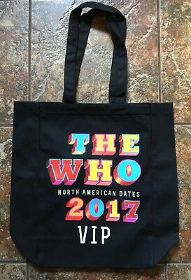 The Who VIP Tote Bag - Exclusive 2017 VIP Package Merch