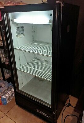 True Manufacturing Gdm-10 Double Glass Door Industrial Fridge Refrigerator Cool
