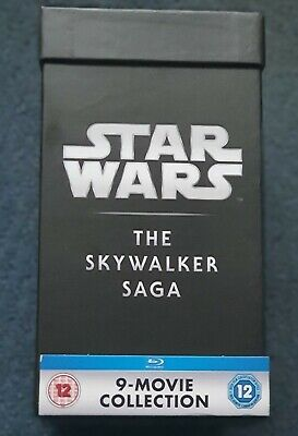 Star Wars The Skywalker Saga Blu Ray Box Set 18 Discs