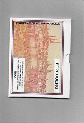 Monnaies Fleur de coin 1990 Luxembourg