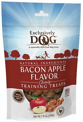 Exclusively Pet Bacon Apple Flavor Chewy Dog Training Treats Flavored Chewy Dog Treats