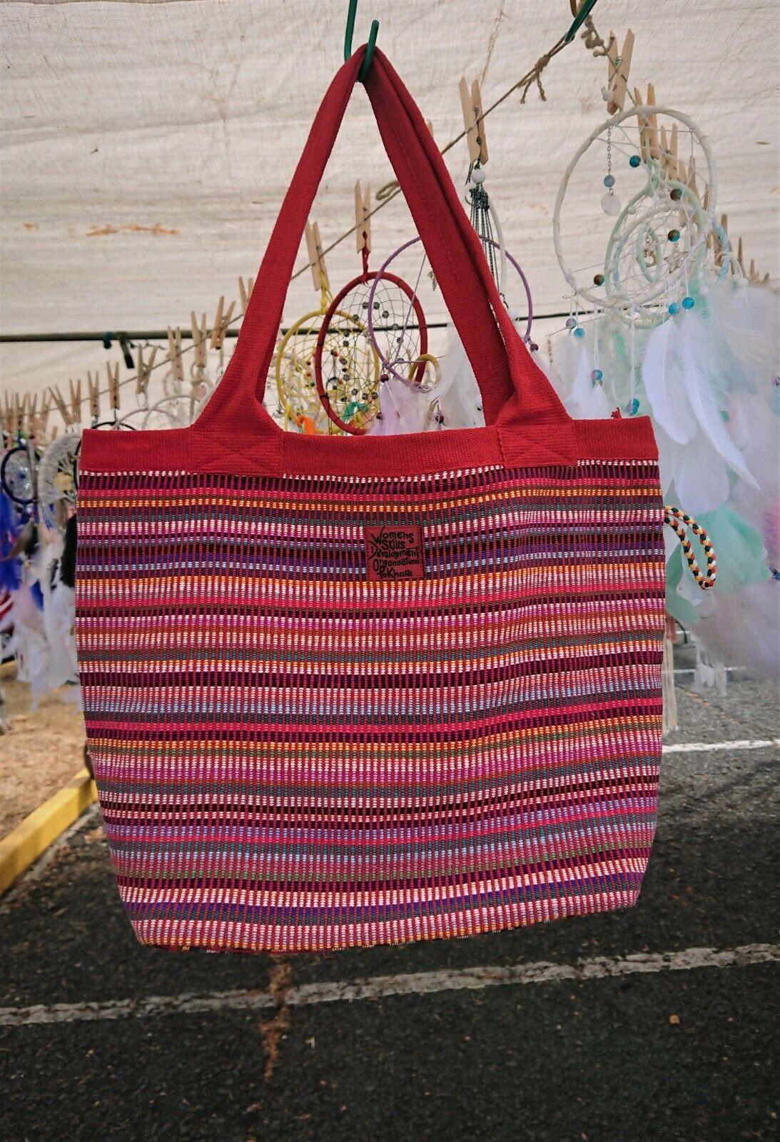 WSDO Bags/ Handmade and Handwoven Shoulder Bag/Travel Bag/Sc