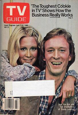1980 TV Guide - Knots Landing - Grand Ole Opry - Grand Opera - Bettina Gregory