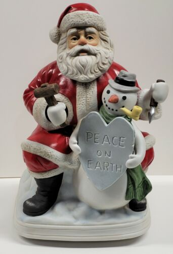 """Melody in Motion - 2002 Santa Claus - Tune: """"Let there be Peace..."""" - #07255"""