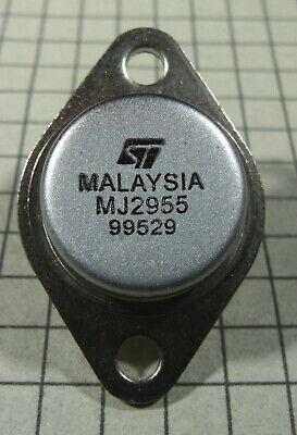 Mj2955 Pnp Power Transistor To-3 Package 2pcs Per Lot
