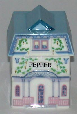 Lenox Porcelain Village Spice Jar ~ Pepper ~ 3
