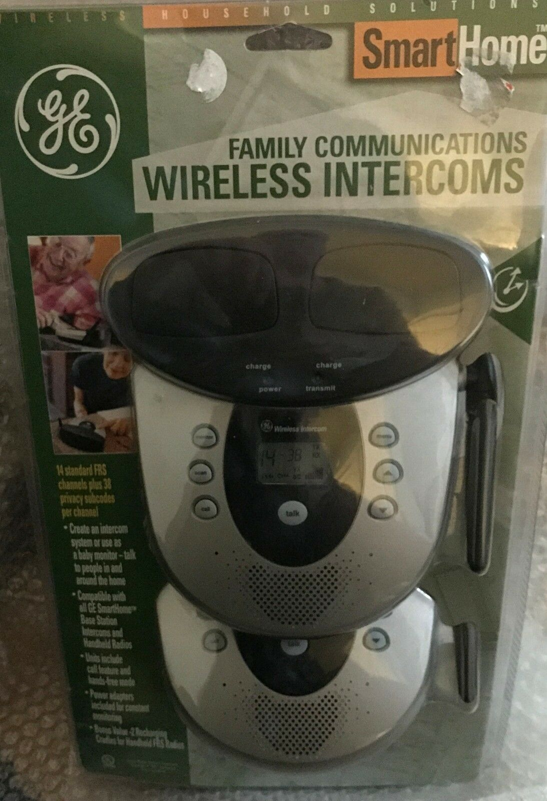 GE SMARTHOME JASHEP51214 Family Communications Wireless Intercoms