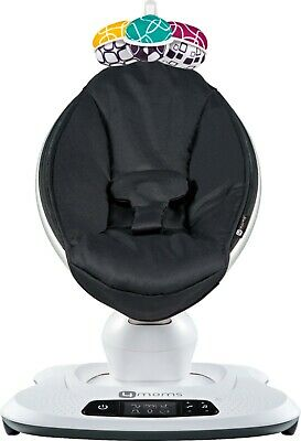 NEW 4Moms Mamaroo 4 Infant Reclining Seat Rocker Bouncer Swing Black