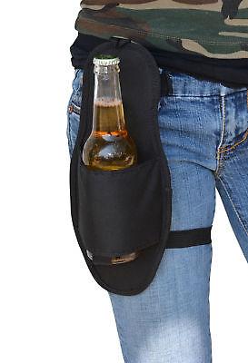 Beer Hip Holster Single Bottle Can Soda Beverage Holder Party Novelty Gag Gift