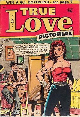 True Love Pictorial #11 Photocopy Comic Book, Matt Baker