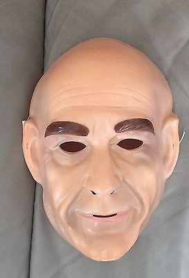 Star Trek The Next Generation Jean-Luc Picard Child Kids PVC Costume Mask Rubies