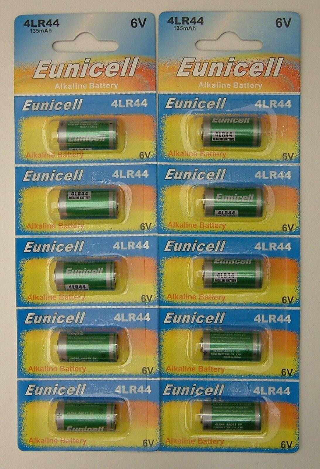 10x 4LR44 6v Alkaline battery 476A A544 PX28 4G13 L1325
