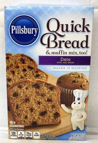 Pillsbury Date Quick Bread & Muffin Mix 16.6 oz