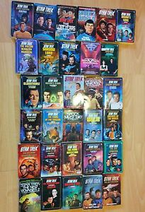 Various Star Trek series and misc sci fi books