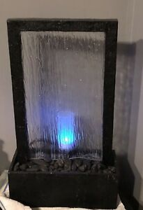 Desktop Waterfall With LED Tea Light