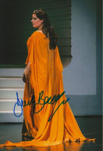 Humorous Barbara Frittoli Opera Signed 8x12 Inch Photo Autograph Music Entertainment Memorabilia