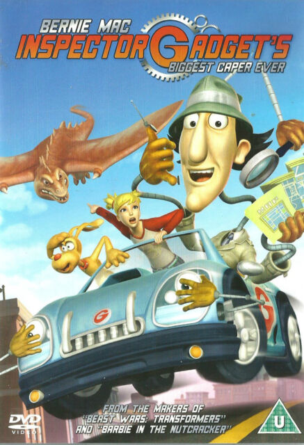 INSPECTOR GADGET'S BIGGEST CAPER EVER Region 2 New but UNSEALED WS Animation