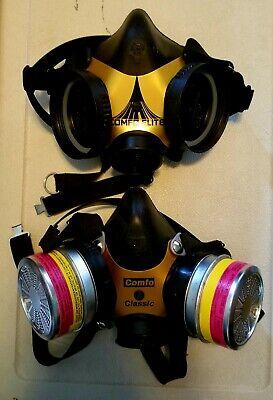 Msa Comfo Respirator Mask Lot