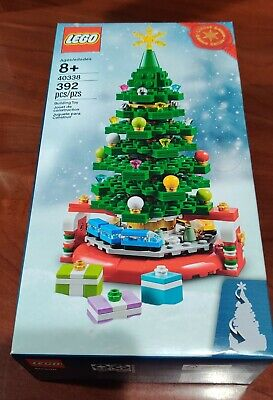 LEGO 40338 Limited Edition Christmas Tree w/ Holiday Train ~ New & Sealed