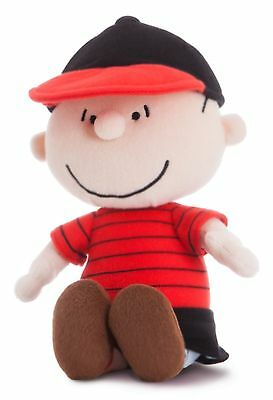 """10"""" PEANUTS~LINUS~Soft Toy~Brand New With Tags~AURORA WORLD~SNOOPY~Collectable"""