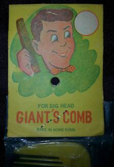 Vintage Hong Kong toy 'giants comb' Glenorchy Glenorchy Area Preview