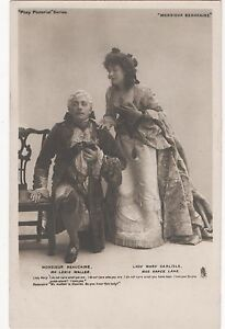 POSTCARD-THEATRE-Monsieur-Beaucaire-Lewis-Waller-Grace-Lane-Tuck