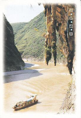 Stalagtites in Dacui Gorge Images of China Postcard Unused VGC