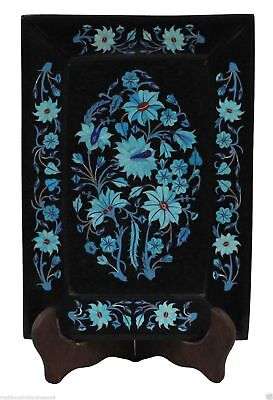 Декоративные тарелки Black Marble Tray Semi