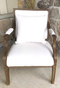 Gorgeous Refurbished Monochromatic Accent Chair